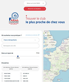Associations FAEMC - lieux de pratique