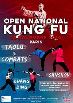 Open kung fu 2020 FAEMC