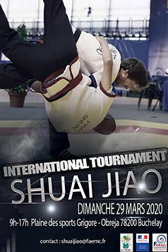 Tournoi de shuai jiao 2020 FAEMC